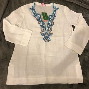 Lilly Pulitzer Linen Tunic